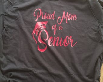 Proud Mom Of 2018 Senior, Senior 2018, Mom of a Senior, 2018 Senior Mom