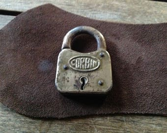Antique CORBIN PADLOCK No Key