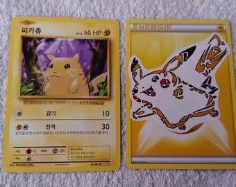 Custom Pokemon Pikachu card