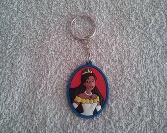 Keychain or handbag Pocahontas