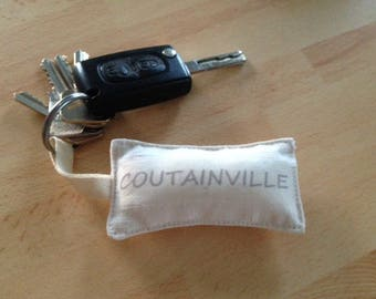 Small custom keychain
