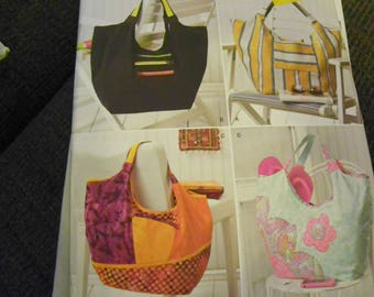 Sewing Pattern - Simplicity 1932 - Four Styles Of Bags, Purses, Totes