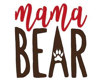 Mama Bear Decal No. 5