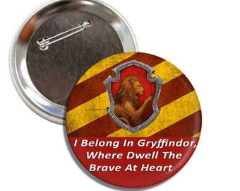 Harry Potter 3 Inch Sorting House Pins