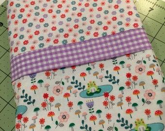 Froggy Pillowcase kit