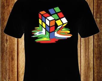 Melted Rubix Cube T-Shirt