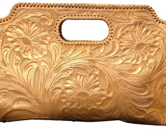 Golden Cluth, 100% Leather, Hand Made, PERSONALIZE YOURS! Free Shipping!