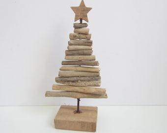 Driftwood Christmas Tree-Handmade Driftwood Decor-Wooden Christmas Tree-Driftwood Tree-Christmas Decor-Unique Gifts-Rustic Decor-Driftwood