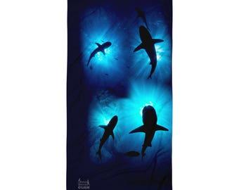 Guam Sharks Towel