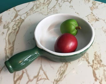 Emile Henry France Green Casserole Dish with handle