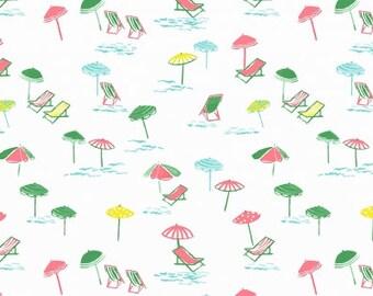 Jetsetter - Lounge Life - White - Dear Stella Fabrics - Fabric By The Half Yard
