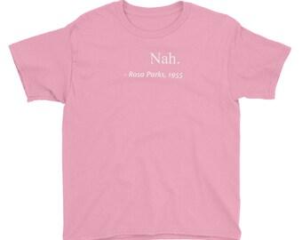 Rosa Parks - Youth Short Sleeve T-Shirt