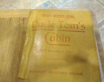 Antique Paperback Uncle Tom's Cabin by Harriet Beecher Stowe