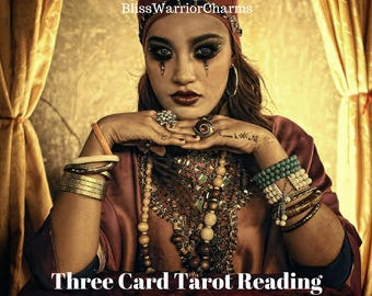 Medicine Woman Tarot Reading 3 Card Spread