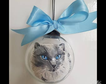 One of a kind customised ornament