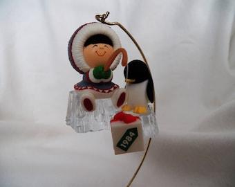 Vintage 1984 Hallmark Frosty Friends #5 - QX4371