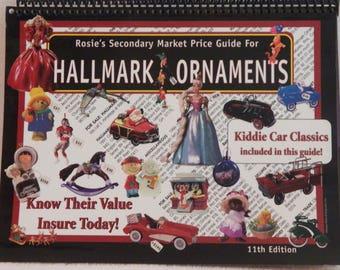 Vintage 1997 Hallmark Ornaments Price Guide