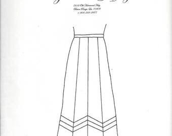 8 Gore Flared Skirt pattern by Cynthia Guffey