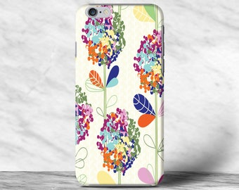 Colorful Big Floral Flowers Case For iPhone 4 4s 5 5s SE 6 6s 7 7s Plus Samsung Galaxy S4 S5 S6 S7 Edge Note 2 3 4 5 Xperia Z Z1 Z2 Z4