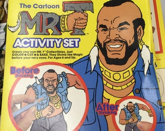Mr. T shrinky dinks sealed see all our MR. T items