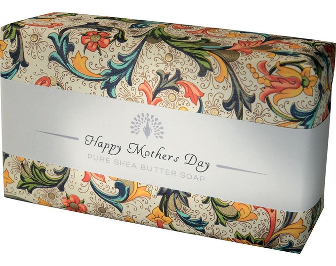 Happy Mother Day Shea Butter Pure Indulgence Soaps Bath Soap-200g- Ideal Gift For Mom- Her-Him or Just For You