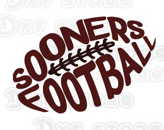 sooners,Oklahoma Sooners ,football,college team ,SVG,DXF,PNG for use with Silhouette Studio and Cricut Design Space