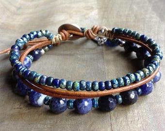Bohemian bracelet boho chic bracelet gypsy womens jewelry rustic bracelet rustic jewelry boho chic jewelry hippie bracelt boho chic jewelry