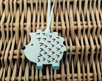 Handmade Clay Hedgehog