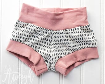 Pink & Ink Shorties
