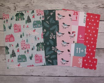 Winter Town - Planner Dividers - A5 Dividers - Divider Set