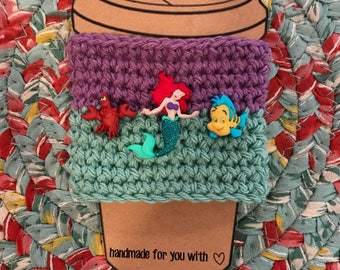 The Little Mermaid Coffee Cup Cozy