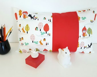 name or pillow case Cushion cover 30 x 50 cm personalized with name pattern little Red Riding Hood