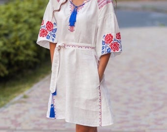 ukrainian embroidered blouse vyshyvanka bohemian ethnic shirt boho chic peasant top