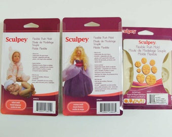 Moule Bébé ou Poupée ou Visage marque Sculpey DIY moulage Loisirs