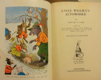 Uncle Wiggily's Automobile 1939 Firm Binding See Pictures