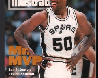 Vintage Magazine - Sports Illustrated : March 7 1994 - David Robinson