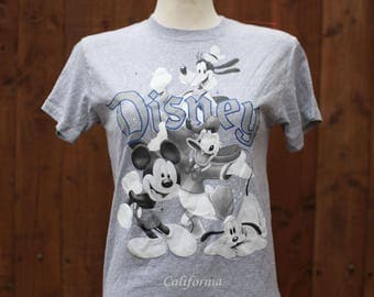 Grey Disney Mickey Mouse T-Shirt