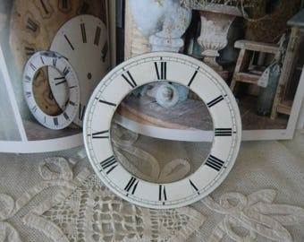 Vintage watches dial enamel french shabby