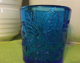 Libbey glass votive.