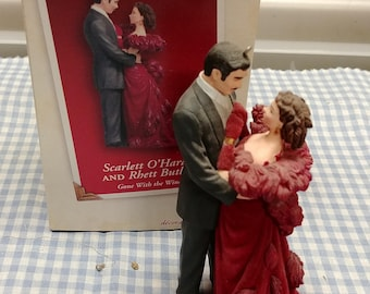 Scarlett O'Hara and Rhett Butler Gone With The Wind Hallmark Ornament