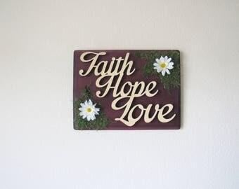 Faith Wall Decor faith decor | etsy