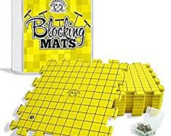 Blocking Mats for Knitting - Pack of 9