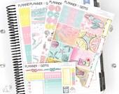 Summer Essential Weekly Planner Kit | 150+ Stickers | Planner Stickers | For Erin Condren LifePlanner
