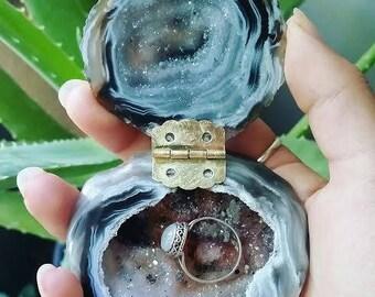 Geode Ring Box #54