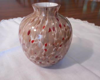 Small Murano? Fused Glass Vase