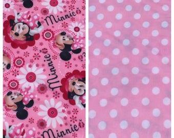 Fleece Kid's Minnie Mouse Blanket(K60)