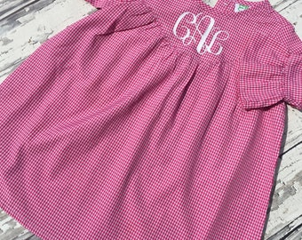 Baby Dress, Gingham Dress Baby, Toddler Dress, Easter Outfit Toddler, Easter Outfit Baby, Gingham Easter Dress, Gingham