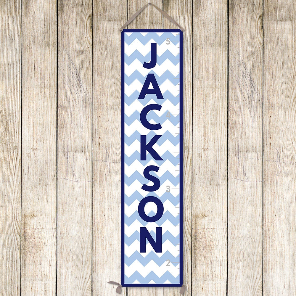 Chevron growth chart personalized canvas growth chart navy growth chevron growth chart personalized canvas growth chart navy growth chart growth chart ruler gc6003n nvjuhfo Gallery