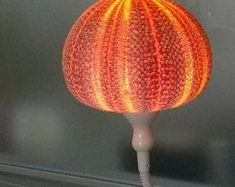 Made of genuine natural Sea Urchin mood lamp
