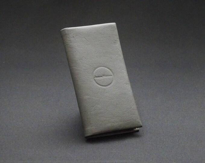 Huawei Smartfold7 Phone Wallet - Black - Fits Huawei P9 - Kangaroo leather with RFID Credit Card Blocking